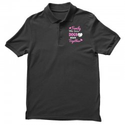 family who loves dogs stays together Polo Shirt | Artistshot