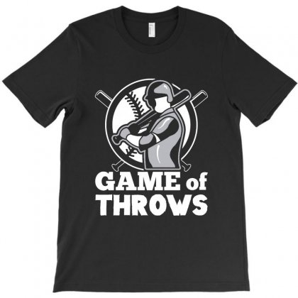 Game Of Throws T-shirt Designed By Vanode Art