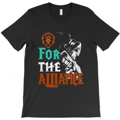 For The Alliance T-shirt Designed By Vanode Art