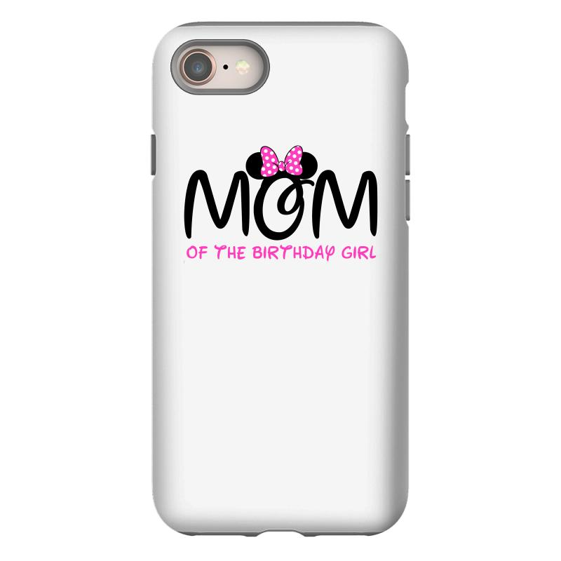 official photos 2ca8b 9f7b3 Mom Of The Birthday Girl Iphone 8 Case. By Artistshot