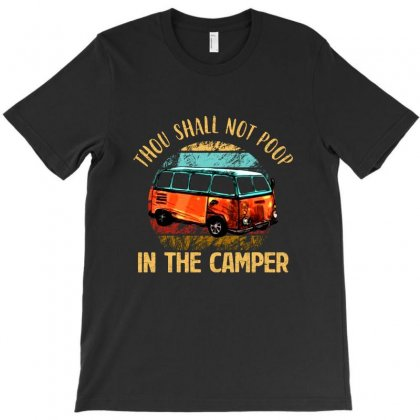 In The Camper Vintage T-shirt Designed By Vanode Art