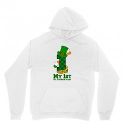 My First St Patrick's Day For Light Unisex Hoodie Designed By Zeynepu