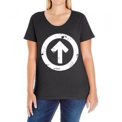 Above The Influence Ladies Curvy T-shirt Designed By Slalomalt