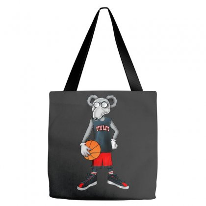 Gym Rat Basketball Male Tote Bags Designed By Slalomalt