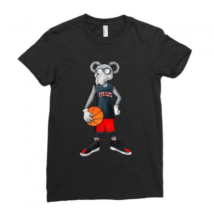 Gym Rat Basketball Male Ladies Fitted T-shirt Designed By Slalomalt