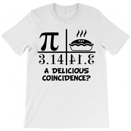 A Delicious Coincidence (black) T-shirt Designed By Blue