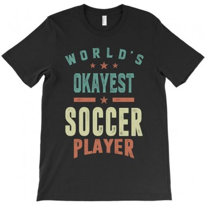 Soccer Player T-shirt Designed By Cidolopez