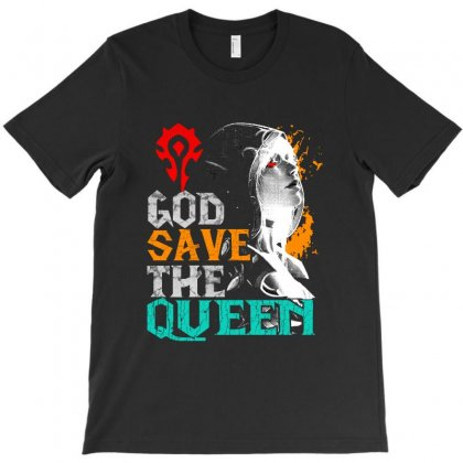 God Save The Queen T-shirt Designed By Vanode Art