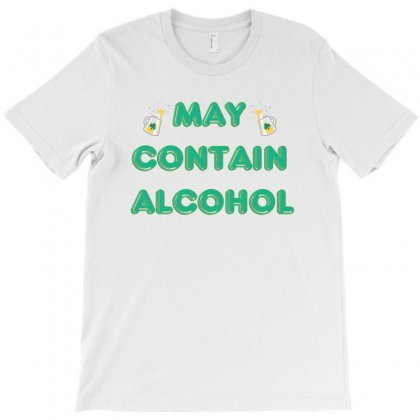 May Contain Alcohol T-shirt Designed By Seniha
