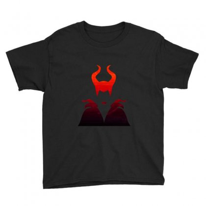 Maleficent Youth Tee Designed By Neset