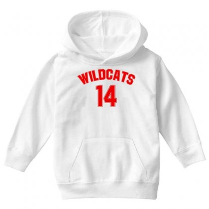 High School Musical Wildcats For Light Youth Hoodie Designed By Zeynepu
