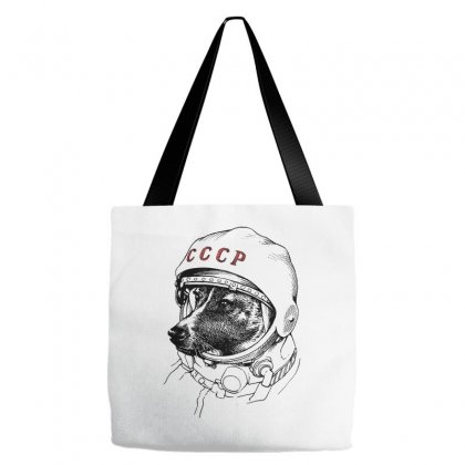 Cccp - Laika The Space Dogs Tote Bags Designed By Vr46