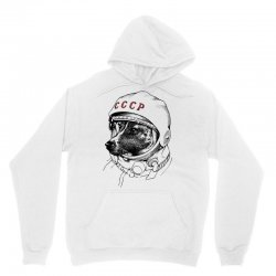 CCCP - Laika the Space Dogs Unisex Hoodie | Artistshot