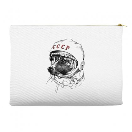 Cccp - Laika The Space Dogs Accessory Pouches Designed By Vr46