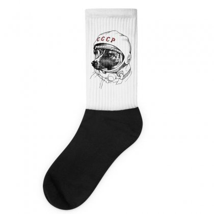 Cccp - Laika The Space Dogs Socks Designed By Vr46