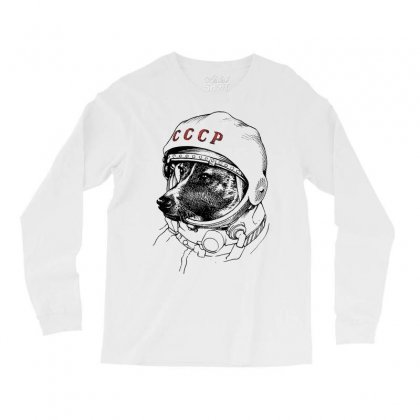 Cccp - Laika The Space Dogs Long Sleeve Shirts Designed By Vr46