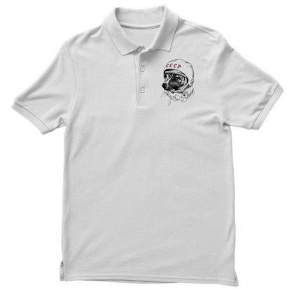 Cccp - Laika The Space Dogs Men's Polo Shirt Designed By Vr46