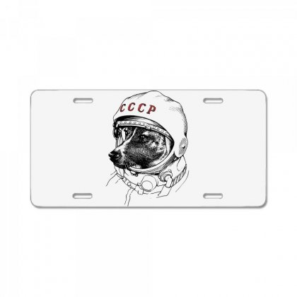 Cccp - Laika The Space Dogs License Plate Designed By Vr46