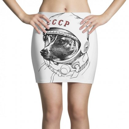 Cccp - Laika The Space Dogs Mini Skirts Designed By Vr46