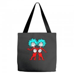 Thing and Dr Seuss Tote Bags | Artistshot