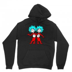Thing and Dr Seuss Unisex Hoodie | Artistshot