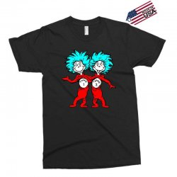 Thing and Dr Seuss Exclusive T-shirt | Artistshot