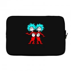 Thing and Dr Seuss Laptop sleeve | Artistshot