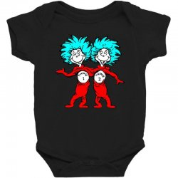 Thing and Dr Seuss Baby Bodysuit | Artistshot