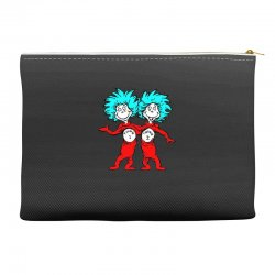Thing and Dr Seuss Accessory Pouches | Artistshot