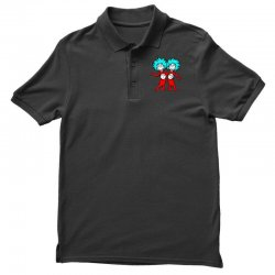 Thing and Dr Seuss Polo Shirt | Artistshot