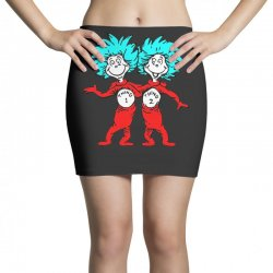 Thing and Dr Seuss Mini Skirts | Artistshot