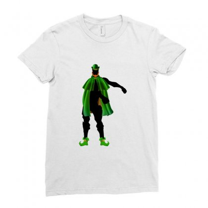 Fortnite St Patrick's Day Ladies Fitted T-shirt Designed By Nurbetulk