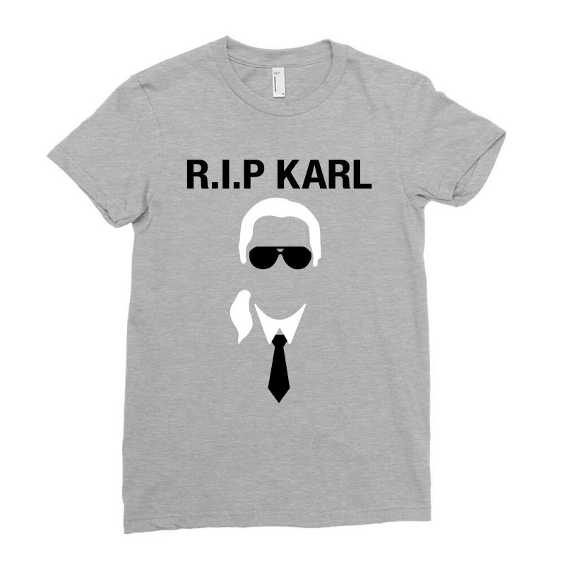 651613657cbd2 Custom Rip Karl Lagerfeld Ladies Fitted T-shirt By Sengul - Artistshot