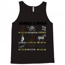 animals of the world Tank Top | Artistshot