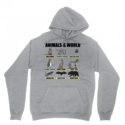 animals of the world Unisex Hoodie | Artistshot