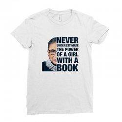 ruth bader ginsburg for light Ladies Fitted T-Shirt | Artistshot