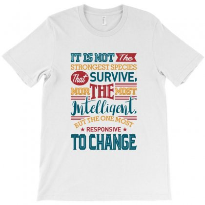 Motivate Yourself To Change T-shirt Designed By Chris Ceconello