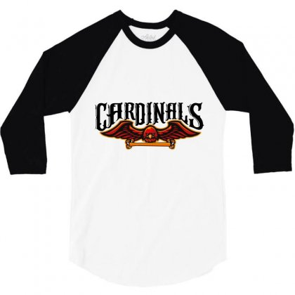 Cardinals 3/4 Sleeve Shirt Designed By Wizarts