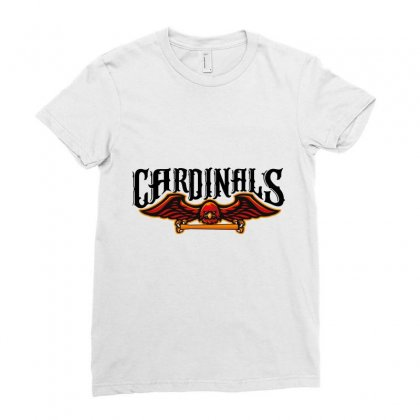 Cardinals Ladies Fitted T-shirt Designed By Wizarts