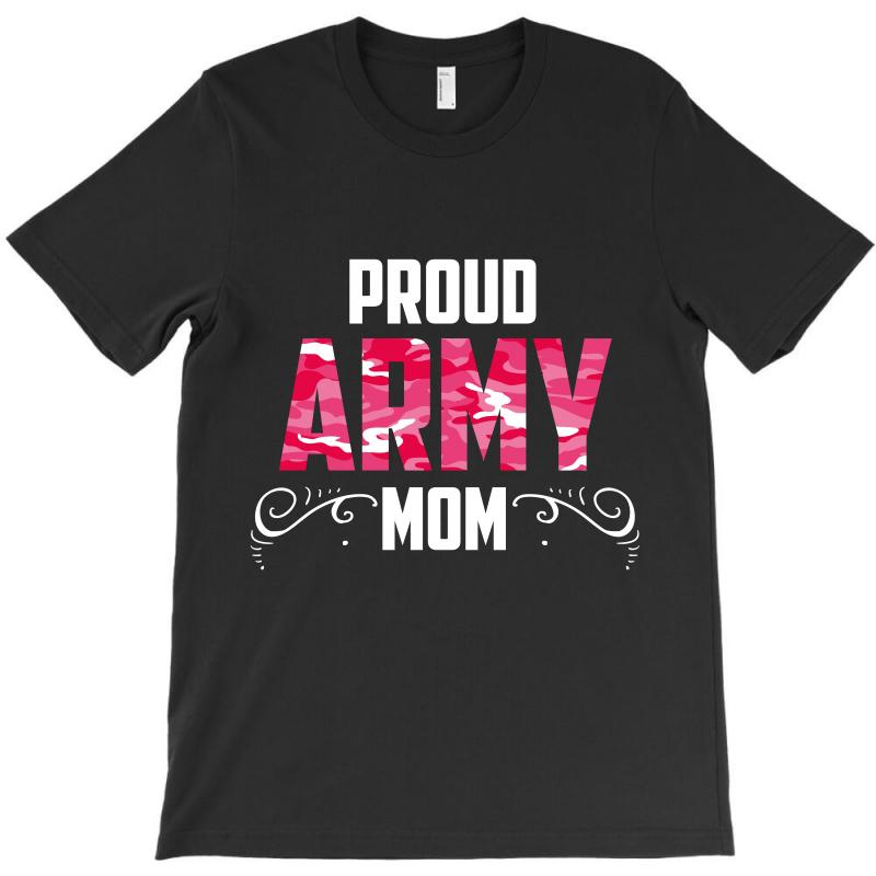 ef867635 Custom Army Mom T-shirt By Wizarts - Artistshot