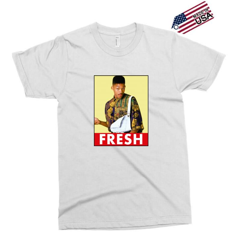 56da149c39bb2f Custom Will Smith Fresh Exclusive T-shirt By Sengul - Artistshot