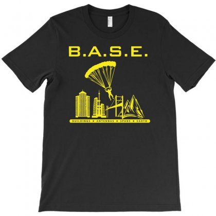 Base Jumping T-shirt Designed By Aheupote