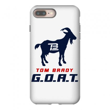 Tom Brady Goat For Light Iphone 8 Plus Case Designed By Toweroflandrose