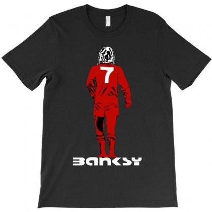 Banksy George Best T-shirt Designed By Silicaexil