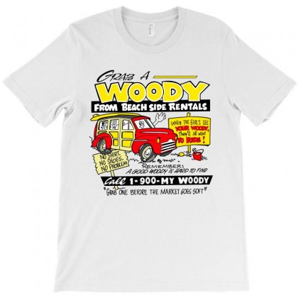 Grab A Woody T-shirt Designed By Silicaexil