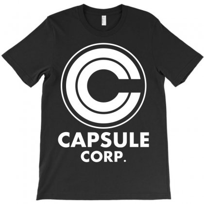 Capsule Corp T-shirt Designed By Silicaexil