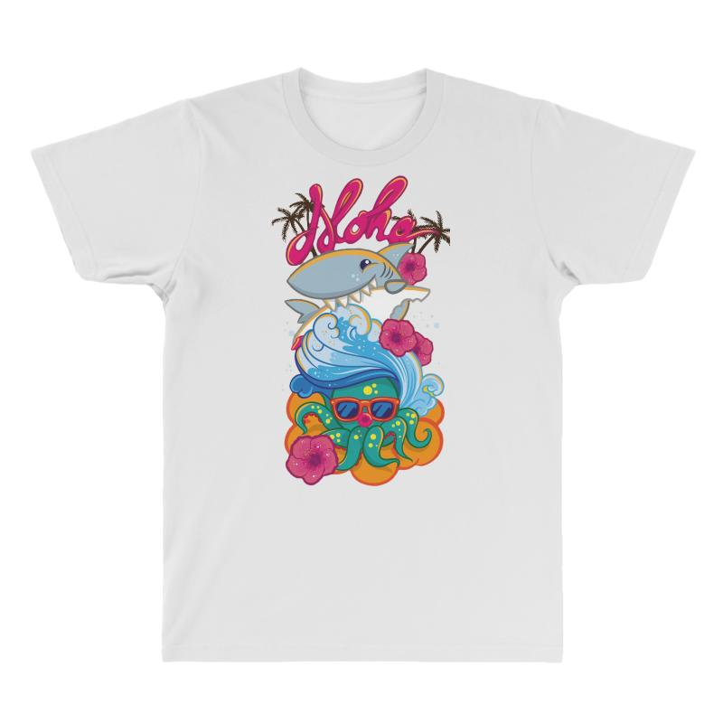 d61f35ef4 Custom Aloha All Over Men's T-shirt By Bertaria - Artistshot