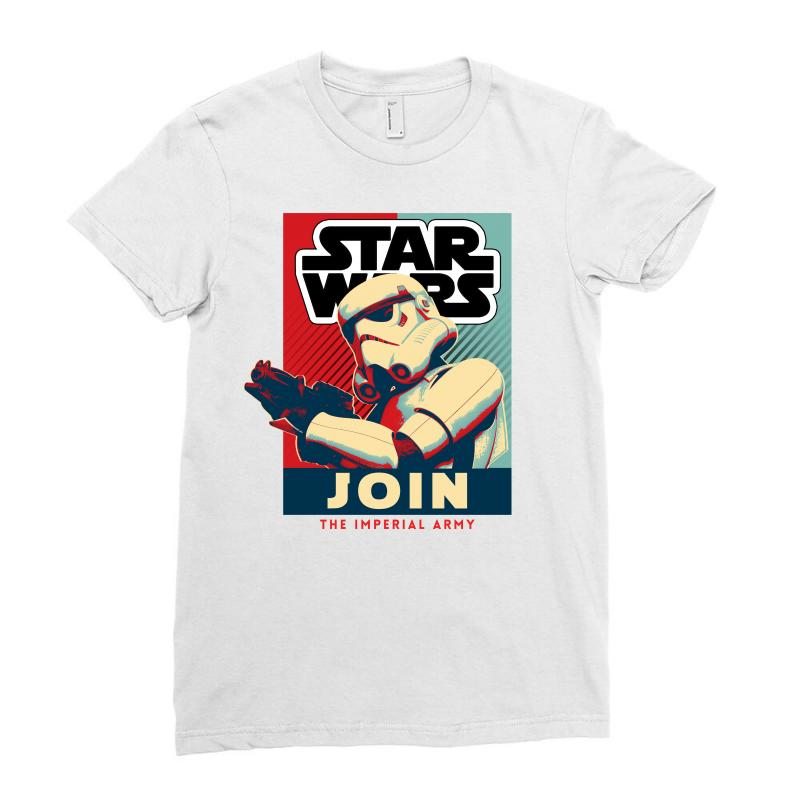 aaa39a4a Custom Star Wars Stormtrooper Ladies Fitted T-shirt By Sengul ...