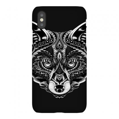 Fox Ornate Iphonex Case Designed By Quilimo