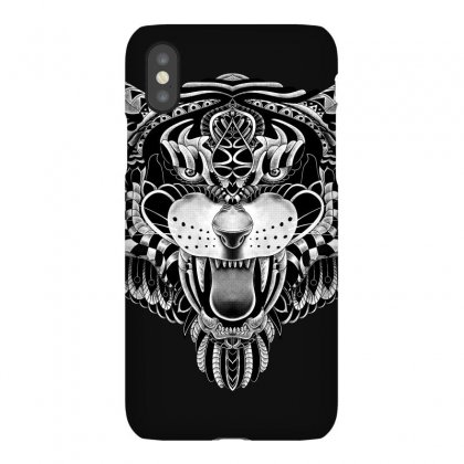 Tiger Ornate Iphonex Case Designed By Quilimo